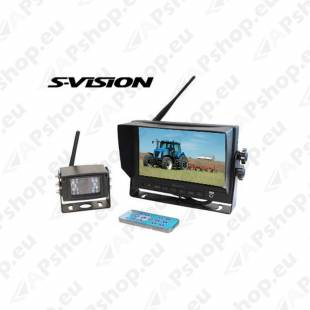 "S-VISION Backup Camera 7"" Screen 1705-00016"