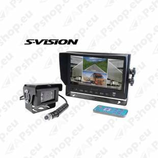 "S-VISION Backup Camera 7"" Screen 1705-00010"