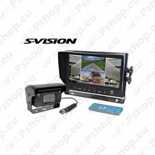 "S-VISION Backup Camera 7"" Screen 1705-00011"