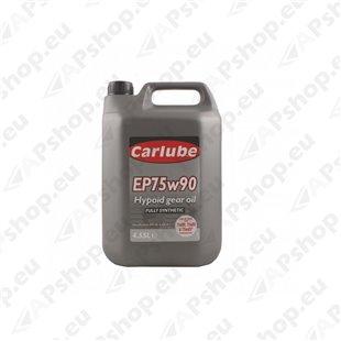 Carlube EP75W90 täissünteetiline transmissiooniõli 4,5l S112-XZF455