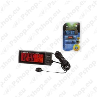 Digitaalne kell kalendri ja termomeetriga S103-8632.4