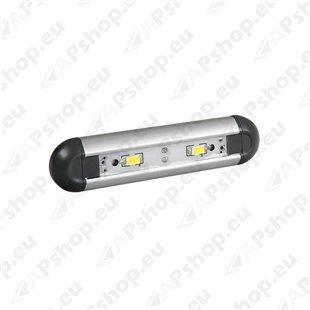 Interjöörivalgusti 2-led lambiga 12/24V S103-7066.9