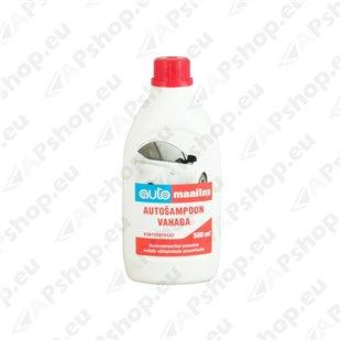 Autoshampoon vahaga Automaailm 0,5L S125-AM024011