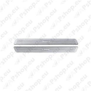 Alumiiniumliistud auto ukse lävepakule S103-0204.4