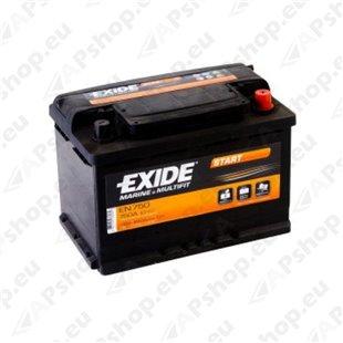 EXIDE START 74Ah 680A 280x175x190-+ S106-EN750