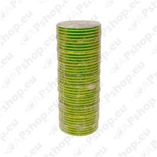 Isoleerteip roheline/kollane 19mm x 20m S172-IE1920