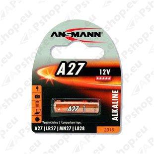MN27/A27 Ansmann patarei 12V, 1tk S119-34657