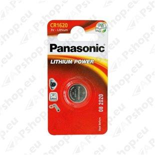 CR1620 Panasonic puldipatarei, 1 tk S119-6229