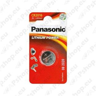 CR2016 Panasonic puldipatarei 1tk S119-6304