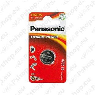 CR2025 Panasonic puldipatarei 1tk S119-8226