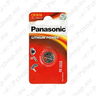 CR1616 Panasonic puldipatarei 1tk S119-12514