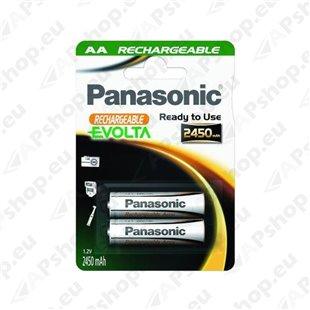 AA Aku Panasonic NiMh 2450mAh, 2tk. S119-32833