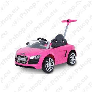 Audi lükatav või pedaalitav auto, roosa M108-44393