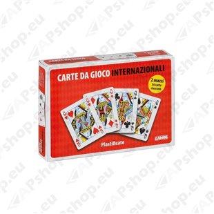 Mängukaartide 2 komplekti, 54 kaarti, plastik kate S103-9949.5