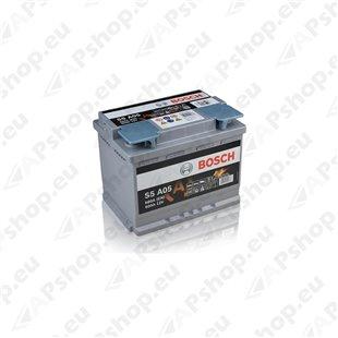 Bosch AGM 60Ah 680A 242x175x190 -+ 0092S5A050