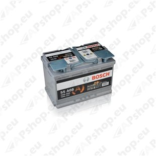 Bosch AGM 70Ah 760A 278x175x190 -+ 0092S5A080