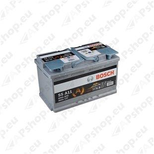 Bosch AGM 80Ah 800A 315x175x190 -+ 0092S5A110