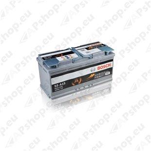 Bosch AGM 105Ah 950A 393x175x190 -+ 0092S5A150