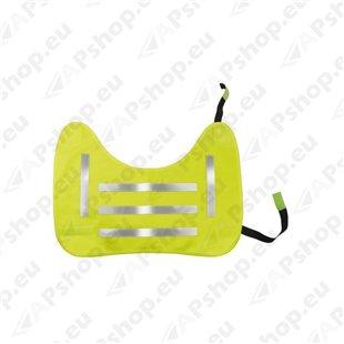 Koera ohutusvest, kollane reflektor, XL S103-6048.5
