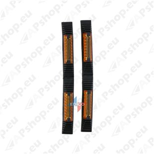 Reflektoorsed uksekaitsmed 2 tk S131-166032