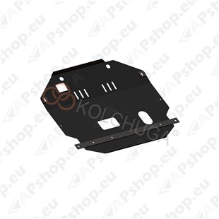 Kolchuga Steel Skid Plate Chevrolet Captiva 2006-2010 2,4 (Engine, Gearbox, Transfer Case (Partially) Protection)