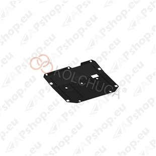 Kolchuga Steel Skid Plate Chevrolet Captiva 2012- 2,2 D (Engine, Gearbox, Transfer Case Protection)