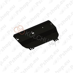 Kolchuga Steel Skid Plate Citroen С3 Picasso 2003-2017 (Engine, Gearbox, Radiator Protection)