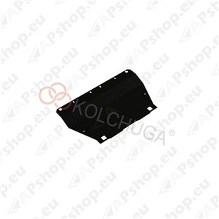 Kolchuga Steel Skid Plate Fiat Panda 2013- 1,4і (Engine, Gearbox, Radiator Protection)