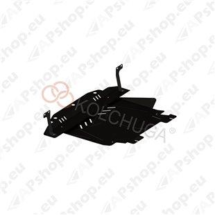 Kolchuga Steel Skid Plate Ford Fiesta VI JH 2001-2008 Petrol (Engine, Gearbox, Radiator Protection)