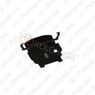 Kolchuga Steel Skid Plate Ford Fiesta VI 2001-2008 1,4 D (Engine, Gearbox, Radiator Protection)