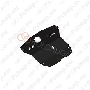 Kolchuga Steel Skid Plate Hyundai Matrix 2001-2010 (Engine, Gearbox, Radiator Protection)