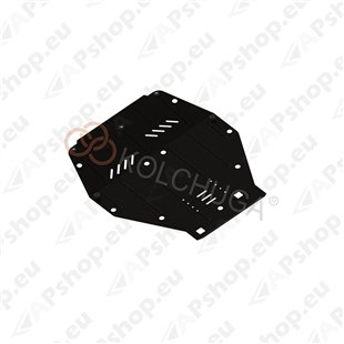 Kolchuga Steel Skid Plate Alfa-Romeo 159 2005-2011 2,2 (Engine, Gearbox Protection)