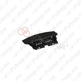 Kolchuga Steel Skid Plate BMW X1 2009-2015 2,0D (Radiator Protection)