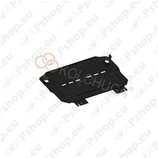 Kolchuga Steel Skid Plate Citroen С3 2016- 1.2i PureTech (Engine, Gearbox, Radiator Protection)