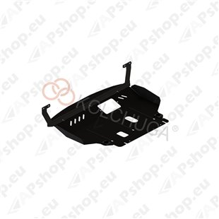 Kolchuga Steel Skid Plate Ford Fiesta VII 2008- (Engine, Gearbox, Radiator Protection)