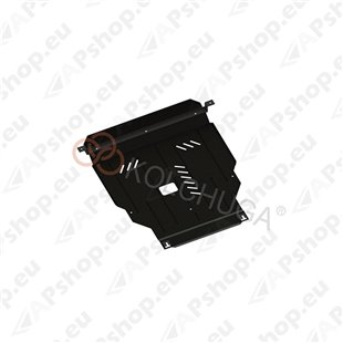 Kolchuga Steel Skid Plate Hyundai Accent RB (Solaris) IV 2011-2015 (Engine, Gearbox, Radiator Protection)