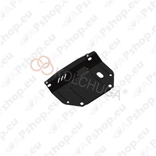 Kolchuga Steel Skid Plate Nissan Micra 2013- 1,2 1,4 (Engine, Gearbox, Radiator Protection)