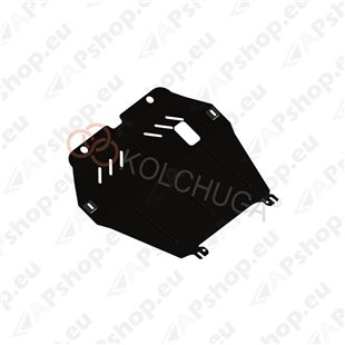 Kolchuga Steel Skid Plate Opel Combo С 2001-2011 1,6 1,3 CRDI (Engine, Gearbox, Radiator Protection)