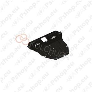 Kolchuga Steel Skid Plate Suzuki Liana 2005-2007 1.6 (Engine, Gearbox, Radiator Protection)