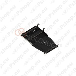 Kolchuga Steel Skid Plate Volvo 940 1991-1998 2,4D (Engine, Gearbox, Radiator Protection)