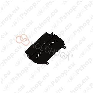 Kolchuga Steel Skid Plate Citroen DS3 2010- 1,6 (Engine, Gearbox, Radiator Protection)