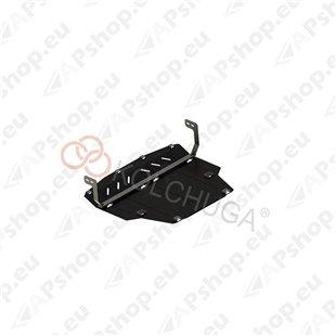 Kolchuga Steel Skid Plate Ford Fiesta VIIІ EcoBoost 2018- 1,0 1,1 (Engine, Gearbox Protection)