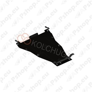 Kolchuga Steel Skid Plate Honda Accord VIII 2008-2013 2,4/3,5 (Engine, Gearbox, Radiator Protection)