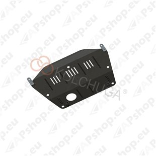 Kolchuga Steel Skid Plate Honda Civic VII 2001-2006 1,6і (Engine, Gearbox, Radiator Protection)