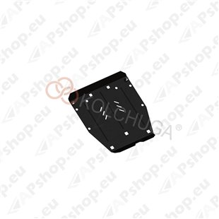 Kolchuga Steel Skid Plate Honda Civic IX sedan 2012- 1,8 (Engine, Gearbox Protection)