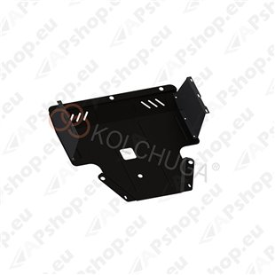 Kolchuga Steel Skid Plate Hyundai I-20 2008-2012 (Engine, Gearbox, Radiator Protection)
