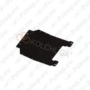 Kolchuga Steel Skid Plate Lancia Delta 2008- 1,4Т 1,6 D (Engine, Gearbox, Radiator Protection)