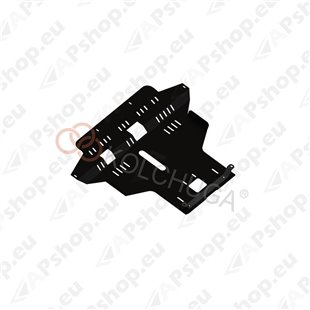Kolchuga Steel Skid Plate Lancia Musa 2004-2012 1,4 (Engine, Gearbox, Radiator Protection)