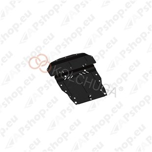Kolchuga Steel Skid Plate Nissan Leaf 2010- (Engine, Gearbox, Radiator Protection)