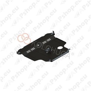 Kolchuga Steel Skid Plate Nissan Sunny 2007- (Engine, Gearbox, Radiator Protection)